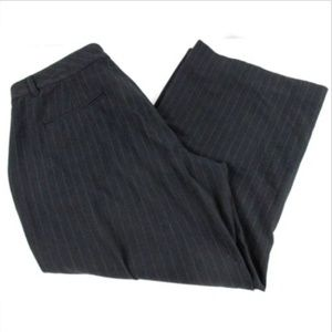 """Old Navy Womens Size 10 Pinstripe Trousers 35"""" W"""